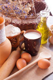 Still life with home-farm products Royalty Free Stock Image