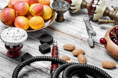 Still life with hookah Royalty Free Stock Photo