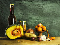 Still life of Ingredients. In the kitchen Royalty Free Stock Images