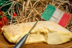 Still Life with Italian cheese Royalty Free Stock Photo