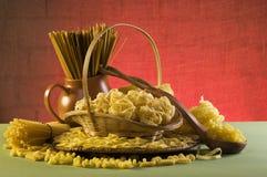 Still life with italian pasta Stock Photography