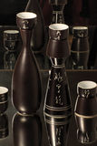 Still life with Japanese sake serving set Royalty Free Stock Photos