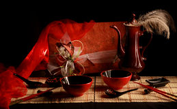 Still life in the Japanese style Stock Image