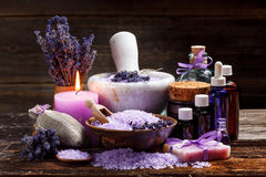 Still life with lavender Royalty Free Stock Image