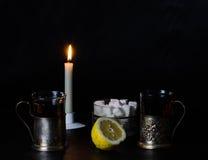 still life with lemon Stock Photo