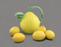 Still Life with Lemons. Royalty Free Stock Photos