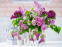 Still life with lilac Royalty Free Stock Photo