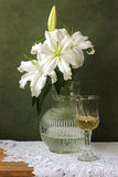 Still life with lilies Royalty Free Stock Photo