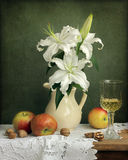 Still life with lilies Stock Images
