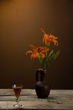 Still life with lily Royalty Free Stock Images