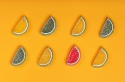 Still life of marmalade. royalty free stock photos
