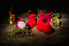 Still life with Merry christmas Stock Photography
