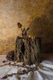 Still Life Metaphorical roses . Royalty Free Stock Photo