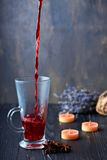 Still life with mulled wine Stock Photography