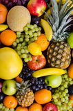 Still life multifruit. Still life of big  heap multi-coloured fruits,  background Royalty Free Stock Photos