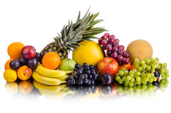 Still life multifruit Stock Photography