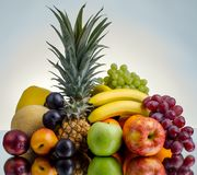 Still life multifruit Stock Photos