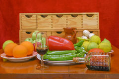 Still life. With natural foods Royalty Free Stock Photo