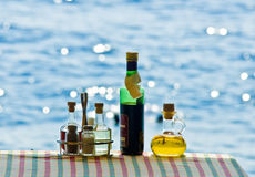 Still life near by beach Stock Image