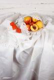 Still life with  nectarine Royalty Free Stock Photos