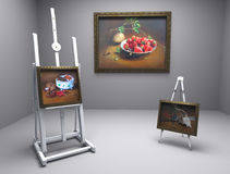 Still life oil - picture 1 Royalty Free Stock Photo