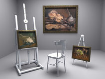 Still life oil - picture 2 Royalty Free Stock Photo