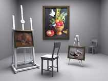 Still life oil - picture 7 Stock Image