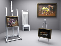 Still life oil - picture 8 Stock Image