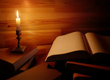 Still life with old book Royalty Free Stock Photos
