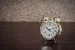 Still life with old retro alarm clock Royalty Free Stock Photography