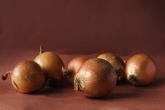 Still life with onion Royalty Free Stock Photography