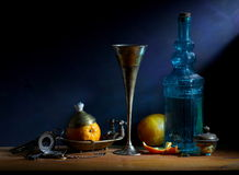 Still Life with Orange Royalty Free Stock Images