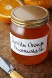 A still life of orange marmalade Stock Photography