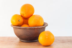 Still life of oranges Royalty Free Stock Photo