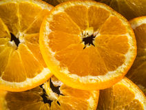 Still life with oranges Stock Photo