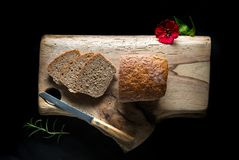 Tasty fresh baked bread Stock Photography