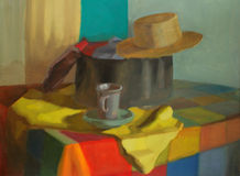 Still Life Painting Royalty Free Stock Photography