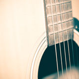 Still life part of guitar Royalty Free Stock Images