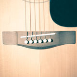 Still life part of guitar Royalty Free Stock Photography
