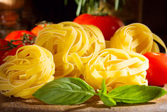 Still life with pasta Royalty Free Stock Photography
