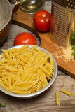 Still life with pasta Stock Photography
