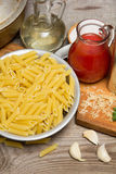 Still life with pasta Royalty Free Stock Images