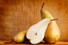 Still life with pears Royalty Free Stock Photography