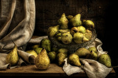 Still life. With pears Stock Images