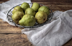 Still-Life with Pears Royalty Free Stock Photos