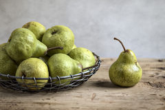 Still-Life with Pears Stock Image