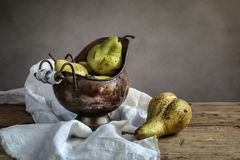 Still-Life with Pears Royalty Free Stock Photo