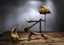 Still-Life with Pears Stock Photos