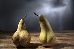 Still-Life with Pears Stock Photo