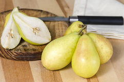 Still Life with Pears Royalty Free Stock Photos